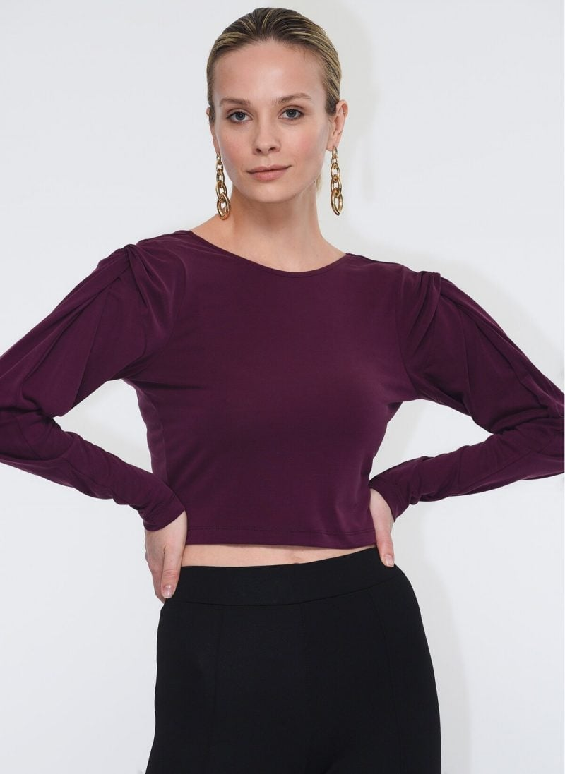 Ophelia Bordo Sweatshirt