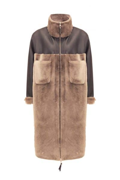 Aston Shearling Kürk Kaban